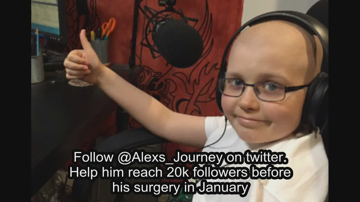 Let's get @alexs_journey to 20k followers before he gets back from Florida next week. Almost 14.5k already https://t.co/9fgk8NtDFJ