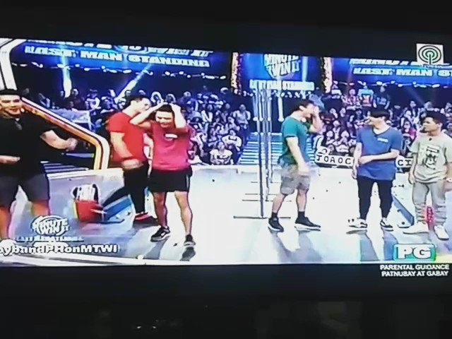Niel's Honeymoon dance. Lol!