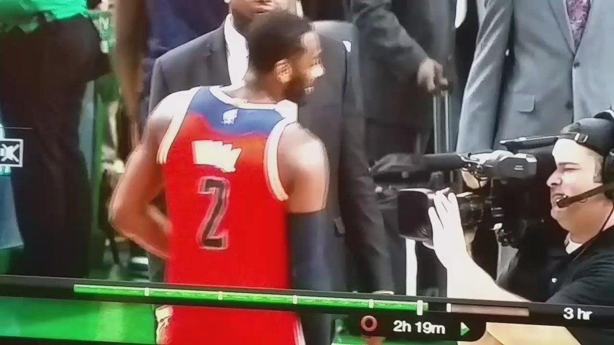 The Wizards and Celtics just plain don't like each other. https://t.co/E94ZGtX57B