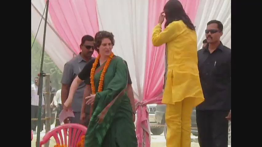 Happy birthday priyanka gandhi ji:sadhna bharati(national star campaigner congress)
