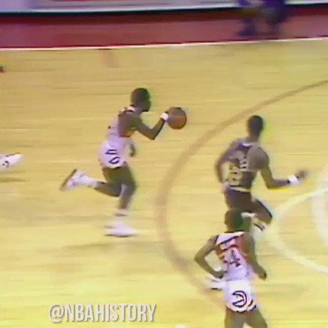 Happy Birthday to the former Atlanta Hawks superstar, Dominique Wilkins! : (NBA History)