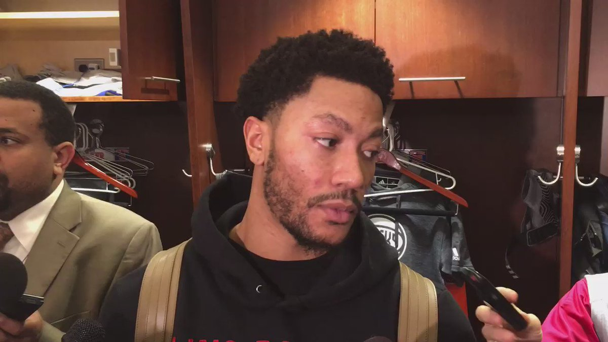 """Derrick Rose on how Joakim Noah likes to talk """"BS"""" against the Bulls before he quickly clarifies"""