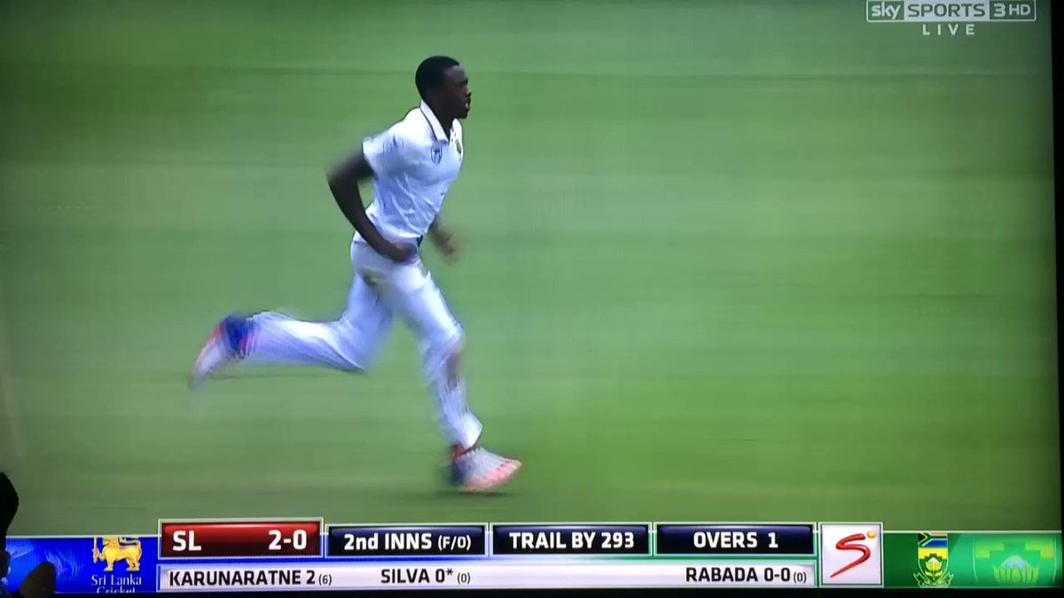 Stop it, Rabada - some of these people have kids #SAvSL https://t.co/anKDbbqFpv