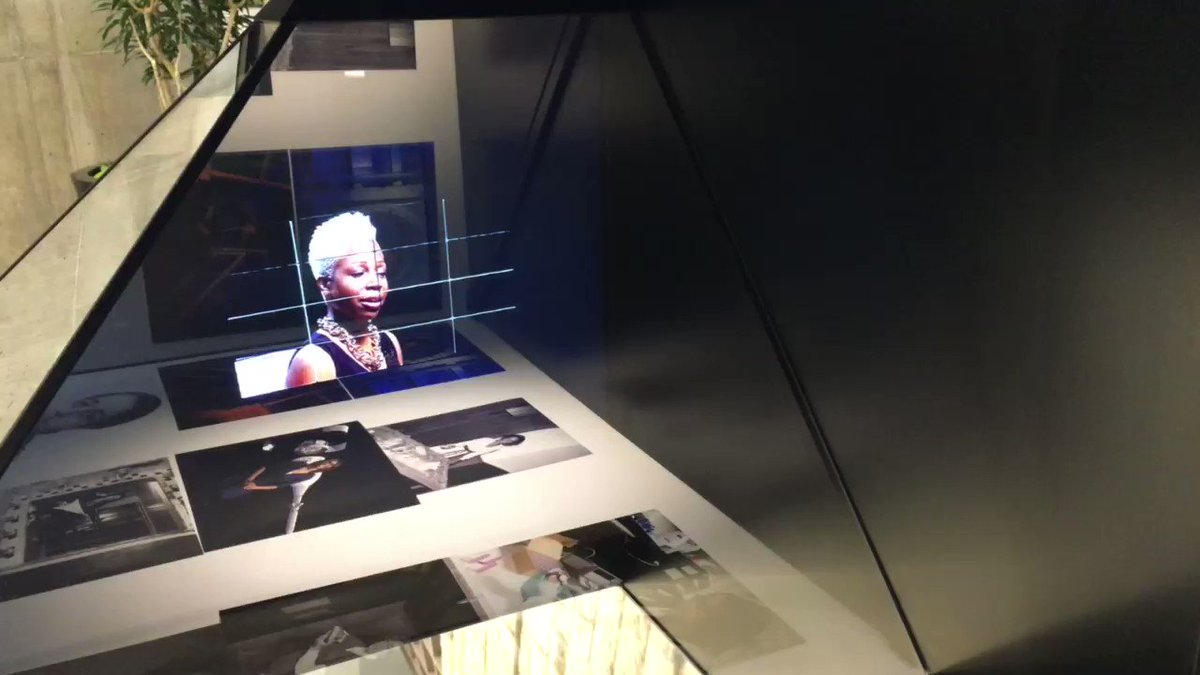 So cool! @NASAglenn brought some unique exhibits for today's (1/14) event. #HiddenFigures https://t.co/Kzdp0gzW3B