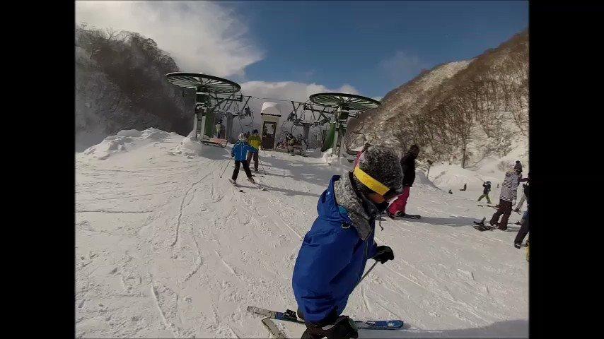 2017年1月15日(日)『奥伊吹スキー場』に  GP隊・『生ガンダム』さん登場!   *˙0˙*)۶♥