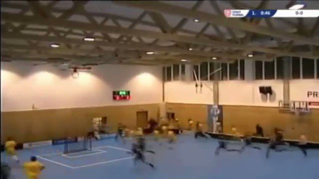 Hockey teams miraculously escape unharmed as roof caves in on Czech gymnasium (VIDEO)