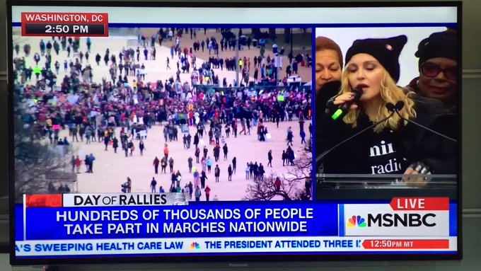 When you give zero f*cks. And you're Madonna. #WomensMarch  https://t.co/HCgNrnuMvJ