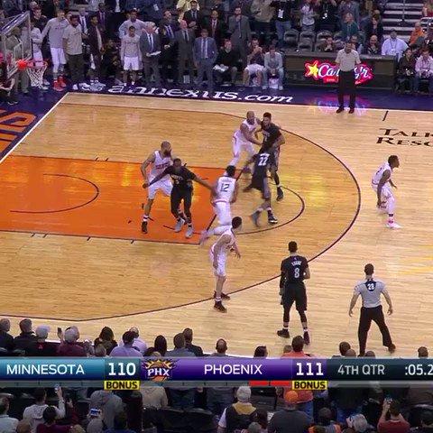 Andrew Wiggins SINKS the game-winner to beat the Suns 112-111 🙉 https://t.co/65YZ7ydQ5v