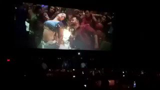 Damn y'all!! I love it so so much!! Everyone is dancing and singing! @RaeesTheFilm https://t.co/GQI8