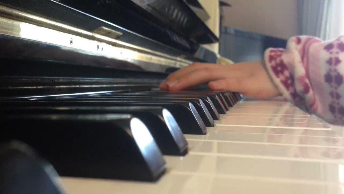 D.grey-man劇中曲繋いだ手にキスをピアノ 耳コピで弾いてみたつまずきも愛嬌で笑改めて名曲だと思います#アニメ #