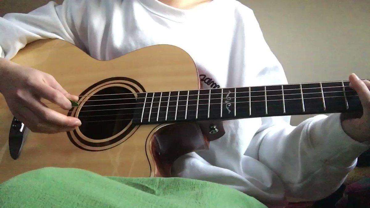【rain(秦基博)】ちょっと久しぶりのギター弾き語りです。言の葉の庭とても美しい映画だよ〜〜#rain#大江千里 さん