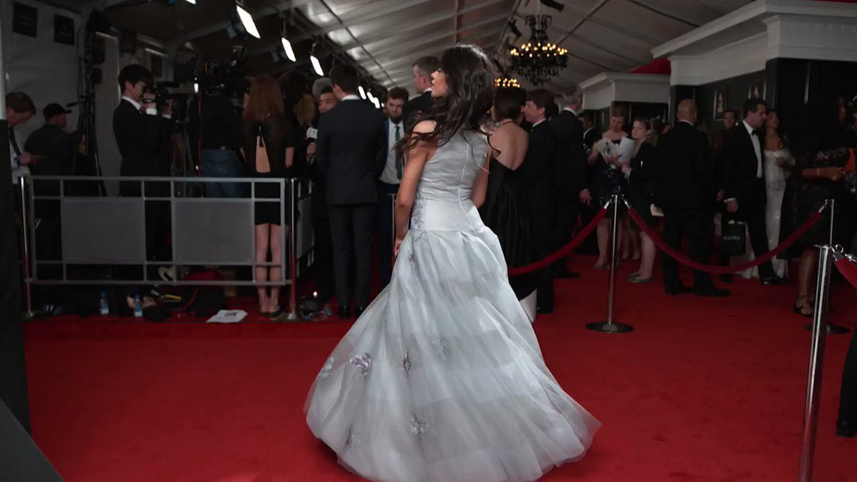Camila Cabello's entire look is in perfect harmony at the #GRAMMYs tonight! https://t.co/h65OddtTdt