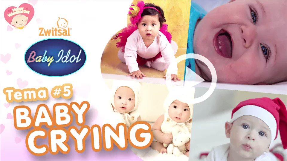 Mau lihat bagaimana gaya menangis si Kecil? Yuk, klik https://t.co/7mIH6Bs4ke @BabyIdolID #ZwitsalBabyIdol https://t.co/zoEEHH7L4J