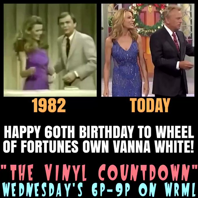 She still looks amazing after all these years on Wheel Of Fortune, doesn\t she? Happy 60th Birthday to Vanna White!