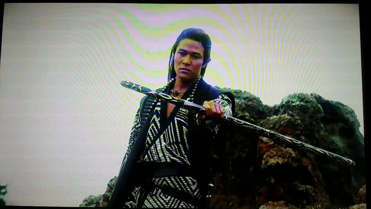 ヒュウゴ、カッコいい~゚+.ヽ(≧▽≦)ノ.+゚殺陣シーン #鈴木亮平 #精霊の守り人 #ヒュウゴ