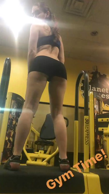 #Workout time! #Gym #DatAss #Bootie #Shake https://t.co/R6rxgoBsN4