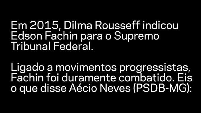 Confira as versões de Áecio Neves 2015 e 2017 sobre o processo de indicação de ministros para o #STF