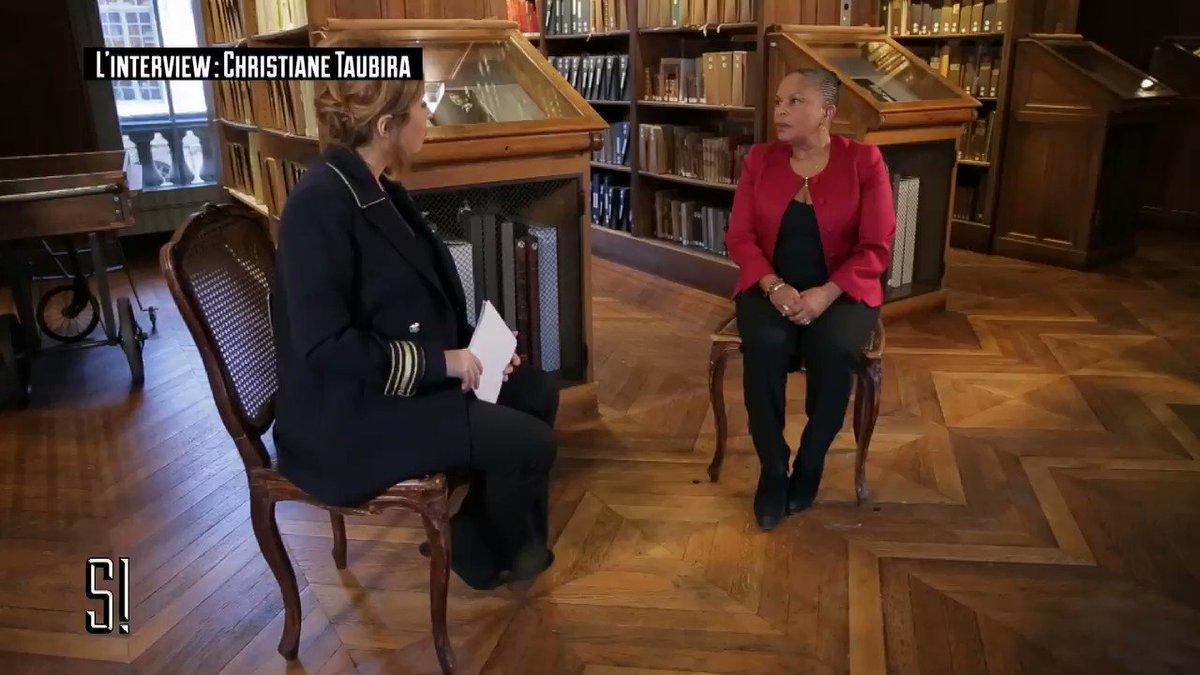 Christiane #Taubira a un message pour Emmanuel #Macron.  À voir en intégralité, lundi, F2, #Stupéfiant, @LeaSalame  https://t.co/Bi26hs6GCb