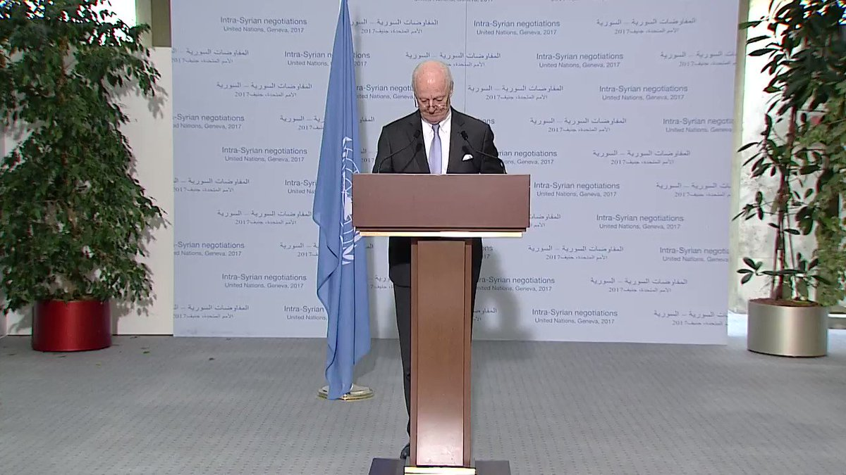 'Tough but constructive' #SyriaNegotiations round wrapped up this wk. Latest from @UN Envoy https://t.co/o3AMqMT6Yz  https://t.co/f24oKEuxdi