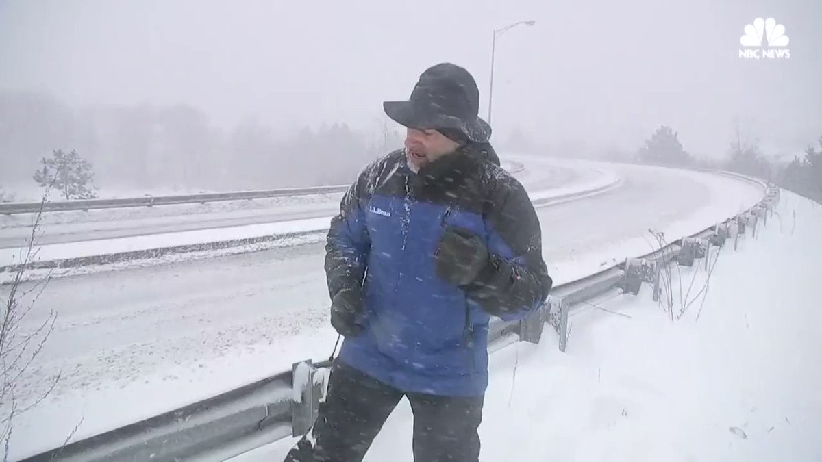 Watch @JimCantore do push-ups while reporting the weather forecast during today's nor'easter