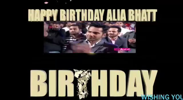 Hey  to you Happy Birthday Alia Bhatt  ALIA\S DAY