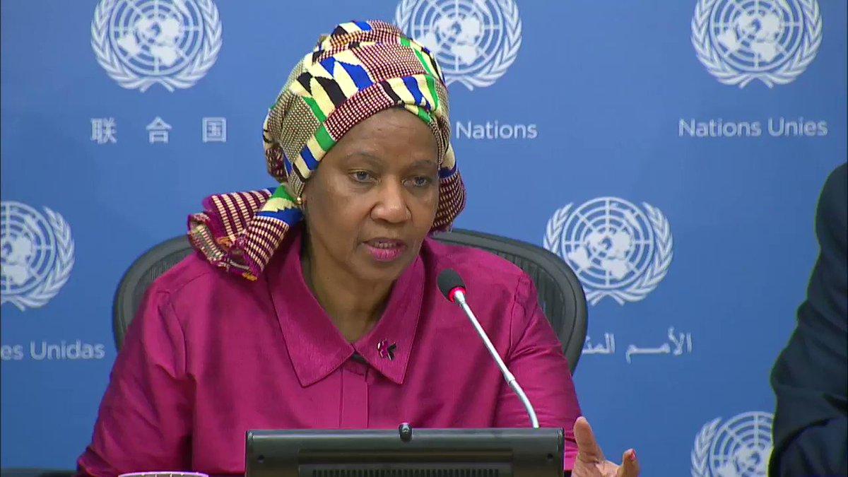 .@UN_Women's  @phumzileunwomen says gender parity in politics remains uneven & patchy #csw61 https://t.co/dmRcSr5GxP https://t.co/AldMvOcs5H
