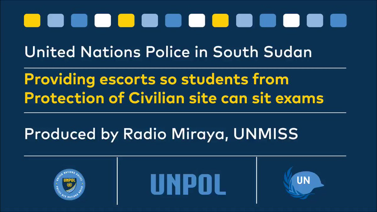 .@UNPOL works to restore & promote public safety. Here's one video update from South Sudan. https://t.co/UaV6C1yOlf https://t.co/F5xiVa9VB9