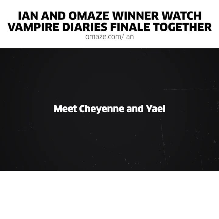 Time's running out win a trip to hang with me at The Vampire Diaries convention! GO: https://t.co/VOrijKepSC https://t.co/3A00eLdzwh