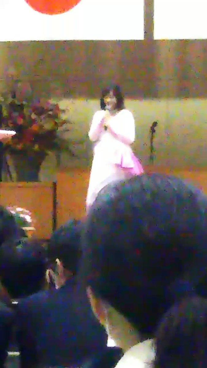 向陽館高校卒業式生ライブ大原櫻子さんありがとうございます卒業は来年やけどいいなー