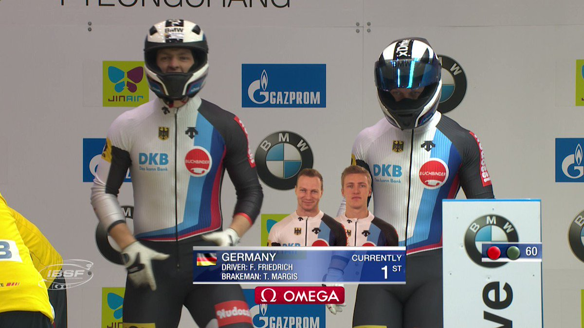 RT @IBSFsliding: Francesco Friedrich wins the last 2-man #bobsleigh #BMWworldcup race of the season in #PyeongChang. https://t.co/pP8V1Q9K4H