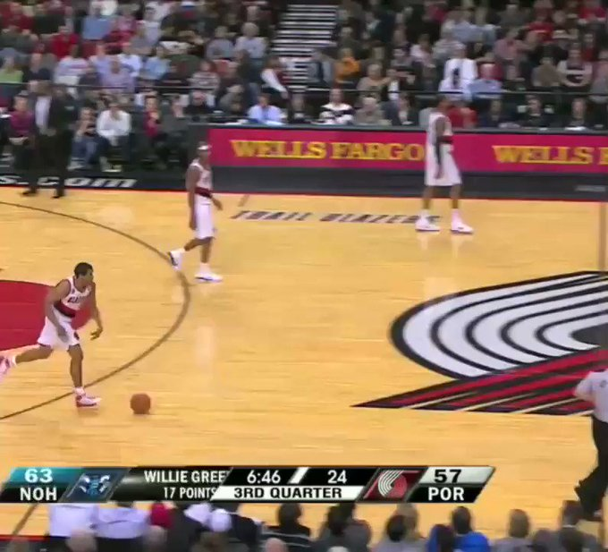 Happy birthday to The Professor, Andre Miller! Beware of the fake timeout