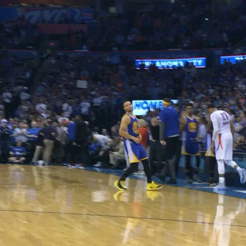 Here comes Steph!! Tip is NOW on TNT https://t.co/JD4ugmoQvR
