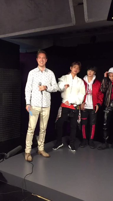 We are live with K-pop band @BTS_twt!