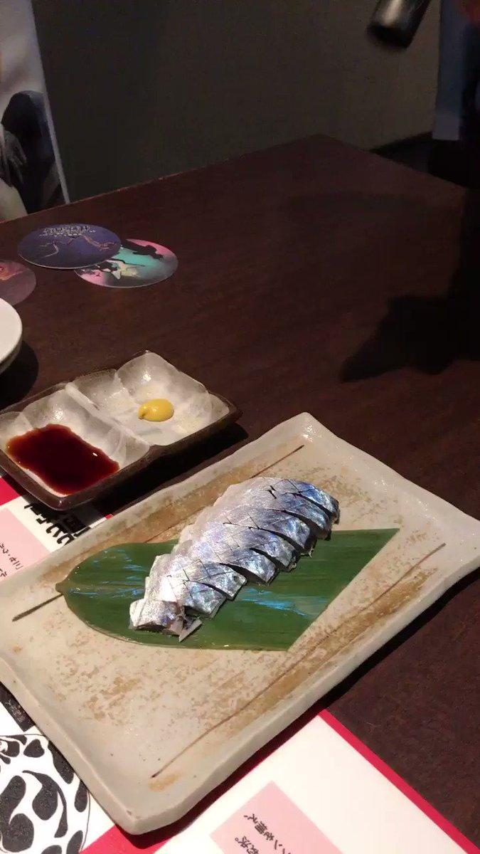 @0316kei 昨日、怪獣酒場に行きました。炙りしめ鯖、良いですね。