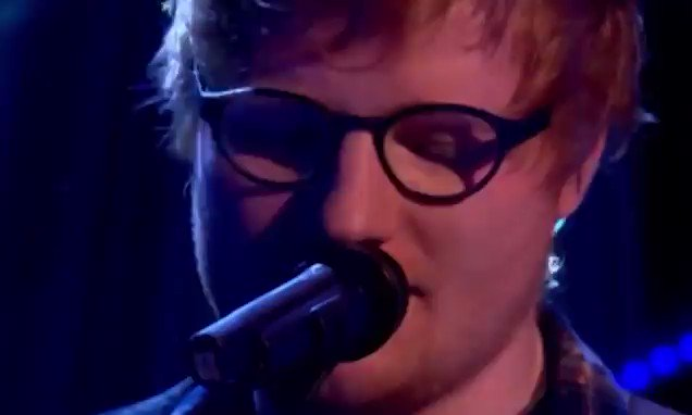 Nervous Ed Sheeran suffers on air blunder as he FORGETS the lyrics to his own song https://t.co/wpXEaTWUxV