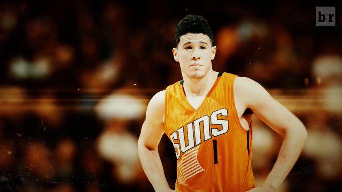 Devin Booker wants to be like Kobe 🐍 @ATT