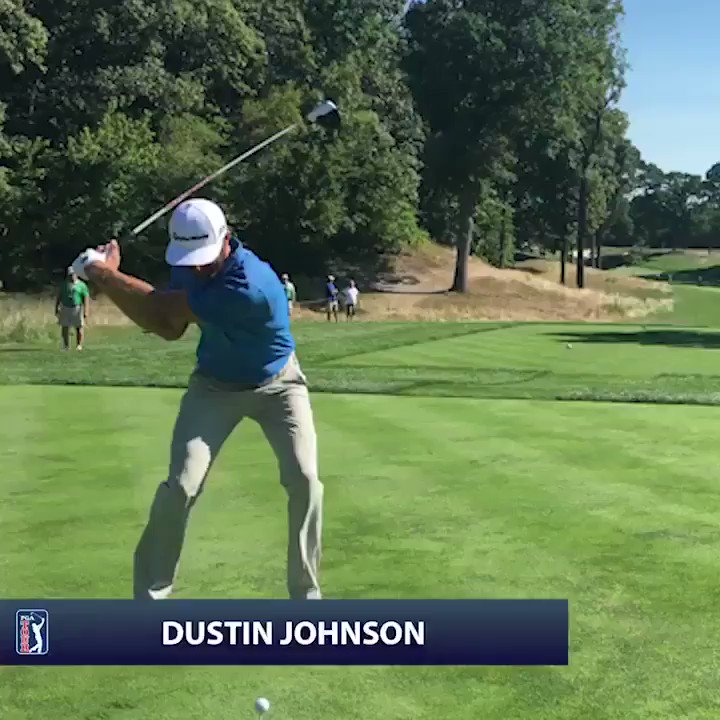 Dustin Johnson's drives on No. 12 at @DellMatchPlay  • 401 yards • 419 yards • 325 yards • 325 yards • 346 yards • 394 yards • 424 yards https://t.co/s8EAMYGLQ8