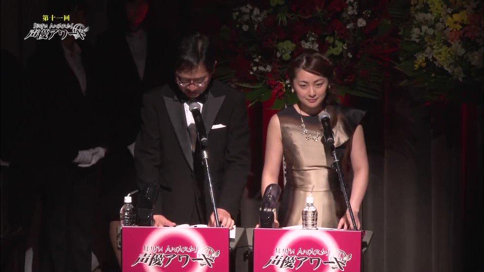 続いて、潘めぐみさん助演女優賞受賞スピーチシーン。TOKYO MX1で放送された「第十一回声優アワード特別放送」より。#
