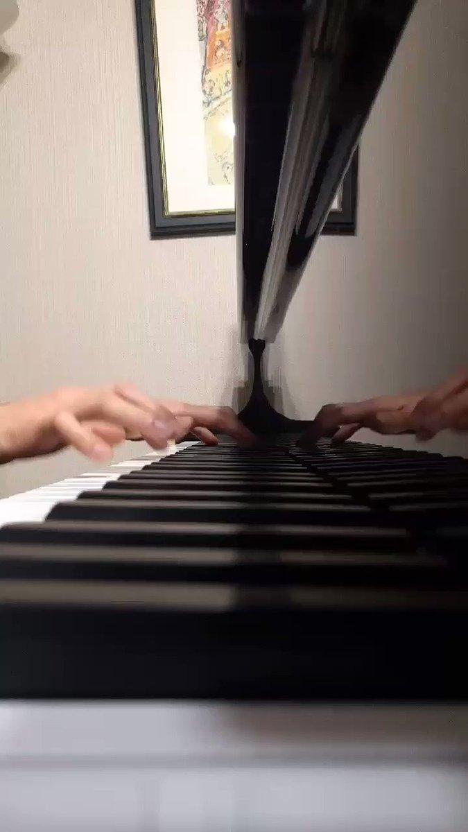 なんの脈絡もなく今日は《花ハ踊レヤいろはにほ》を弾きましたよ #ハナヤマタ
