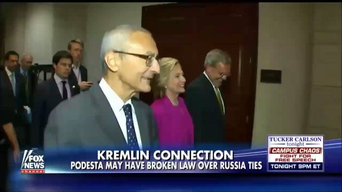 John Podesta recieved at least 35 million dollars from the Russians while working with Hillary and Obama. https://t.co/y7zCy2gsDz