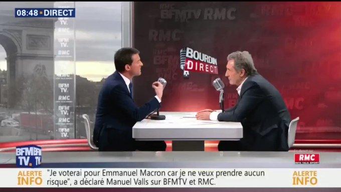 Manuel Valls : 'Moi je serais exclu par ceux qui n'ont respecté aucune règle pendant 5 ans?'