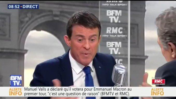 Manuel Valls : 'Mais non, le cabinet noir n'existe pas. C'est une stratégie de démolition'