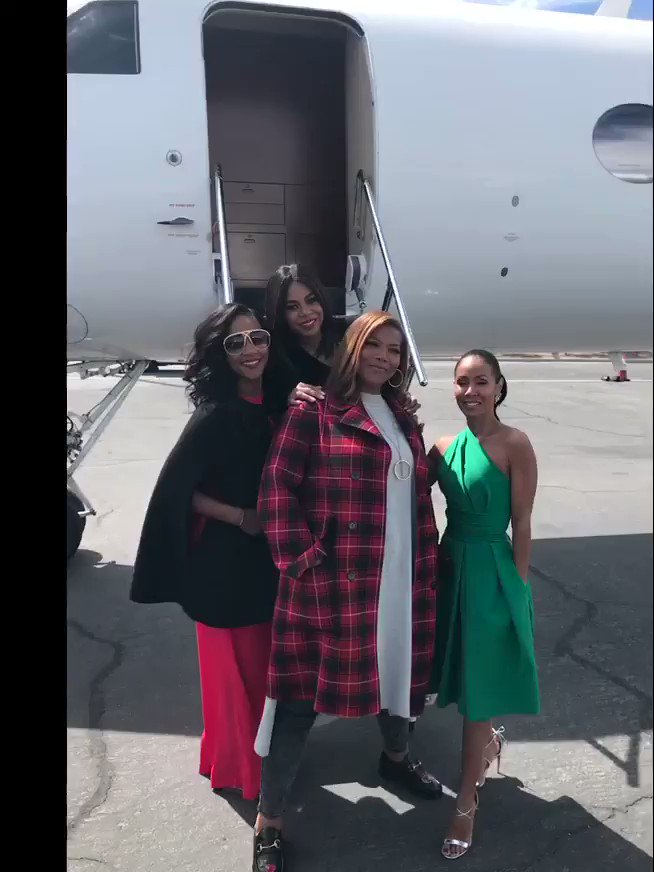 Vegas with my @girlstripmovie co-stars @TiffanyHaddish @MoreReginaHall @jadapsmith! https://t.co/NR8yOG1ihP