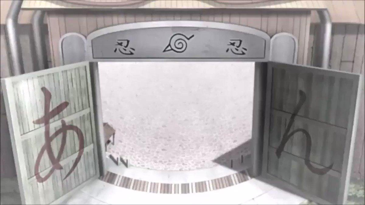 NARUTO疾風伝 ED40Ver.12(最終) 第七班(ナルト,サスケ,サクラ,カカシ)(2017.3.23)『絶絶』