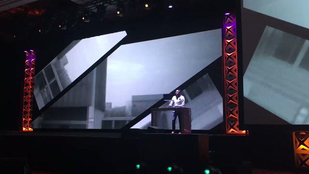 benpopps: Keynote #1 starting soon ... love the opening! #MagentoImagine #Imagine2017 https://t.co/gpwaO5nCoJ