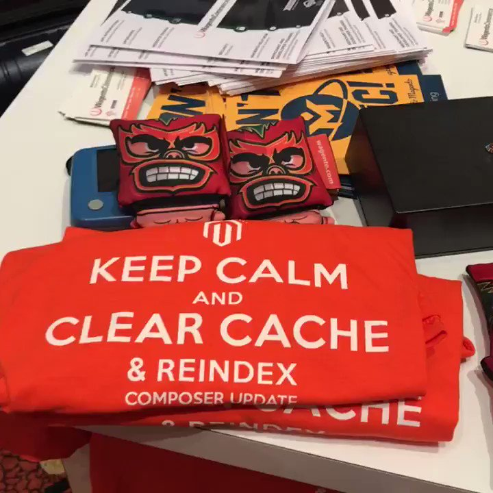 brentwpeterson: We have the Internet and keep calm shirts at our booth #Magentoimagine (yes we have the internet) https://t.co/KiIyZoRhDO