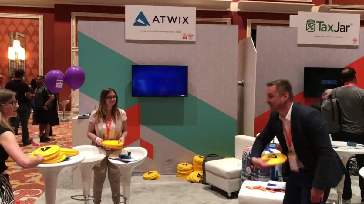 atwixcom: Fun at the Atwix booth, that is! #Magentoimagine #realmagento #magento https://t.co/PYovalf5fk