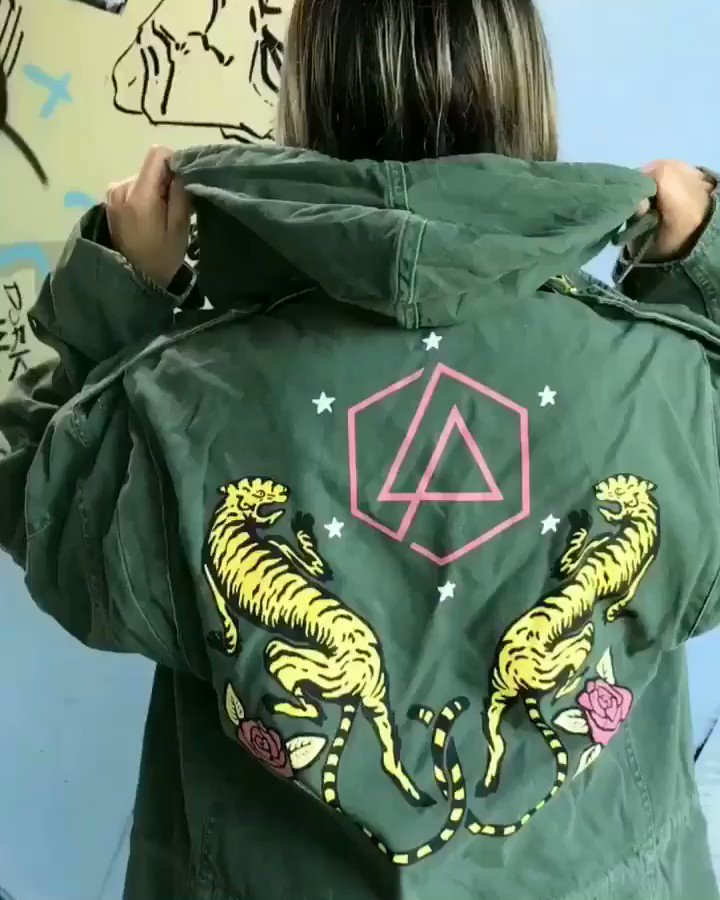 Vintage Tiger Military Jacket. Shop #OneMoreLight merch: https://t.co/eVqUocKAFF https://t.co/YYNHQdfWoe