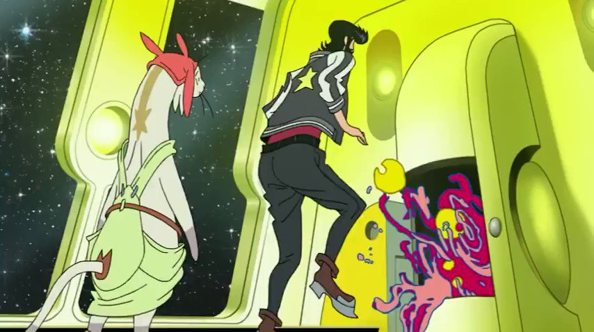 Key Animation: Gosei Oda (小田 剛生)Anime: Space Dandy (スペース☆ダンデ