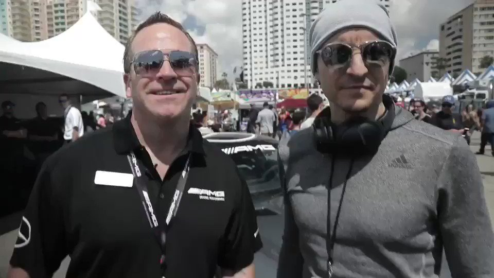 .@ChesterBe with @mercedesamg at the Sports Car Grand Prix at Long Beach. @IMSA https://t.co/PogLhKjDLu